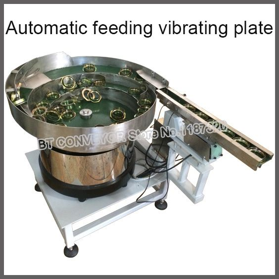 LED Vibrationsplatte Maschine Automatische Schwingförderer Fütterung Vibrierende Plattform für Medizin, schraube, batterie, lampen, Diode