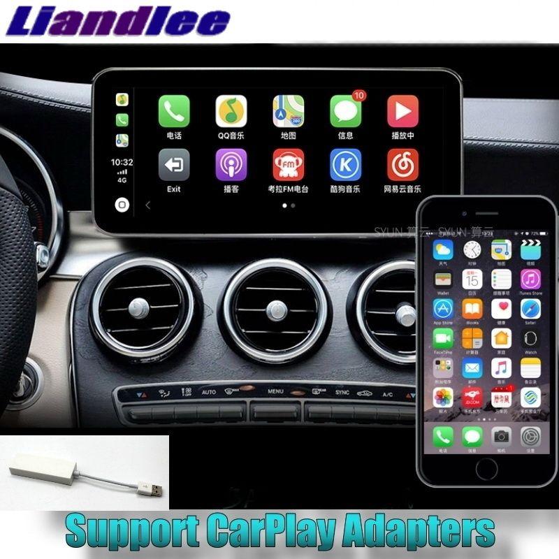 Liandlee Auto Multimedia-Player 4G RAM Für Mercedes Benz C Klasse MB W205 2014 ~ 2018 NAVI Auto Radio stereo CarPlay GPS Navigation