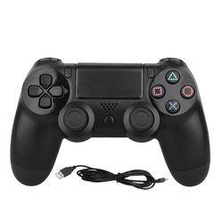 Onetomax USB con cable controlador Gamepad para PS4 juego para Sony Playstation 4 vibración Dual Shock Joystick Gamepads