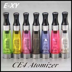 E-XY 10PCS CE4 Atomizer CE4 Ecigarette Clearomizer 1.6ml fit on eGo-T/K/W EVOD Series Battery 510 thread 8 colors Free Shipping