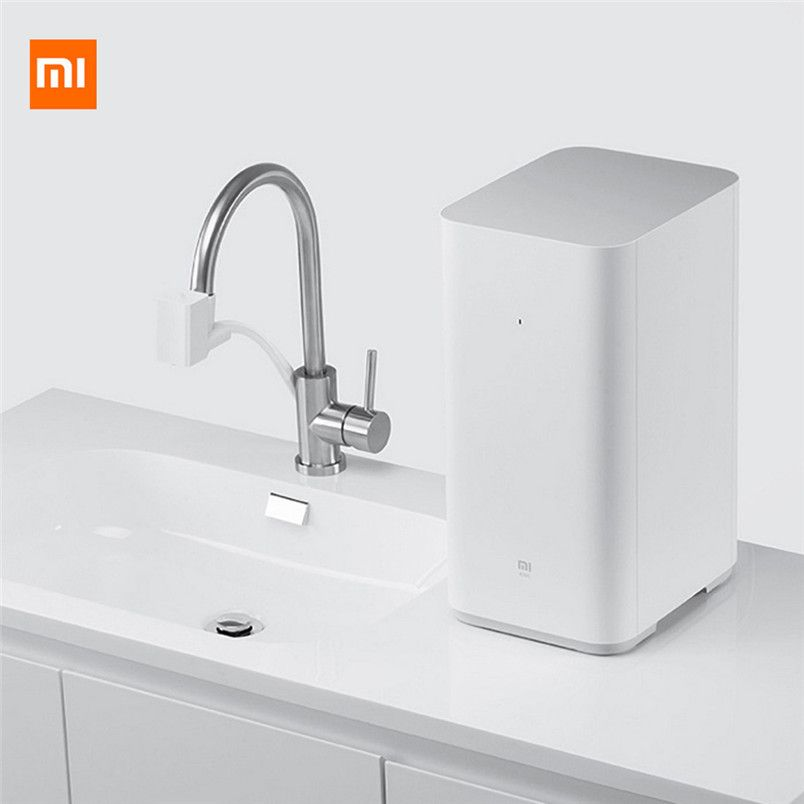 Original Xiaomi Water Purifier Water Filters Xiaomi Updated Mi Water Purifier Large 400 Gallon Flow Support Smartphone App Z20