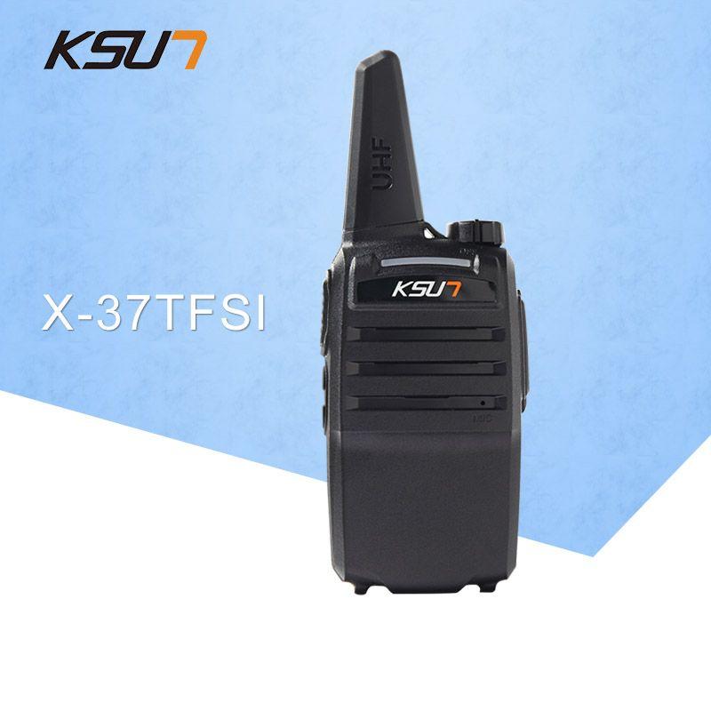 1PCS KSUN X-37TFSI Walkie Talkie 6W High Power 4000mAh Li-ion Battery New BUXUN Dual Band Two Way Radio