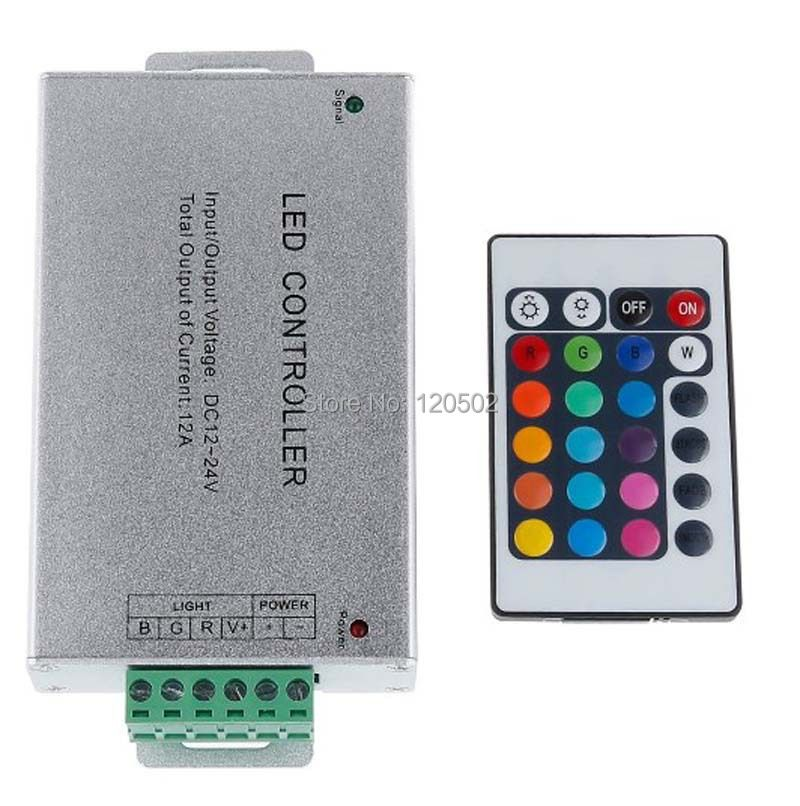 12-24V 12A rgb controler For 3528SMD 5050SMD RGB LED Strip Light RGB AMPLIFIER Controller Signal Amplifier