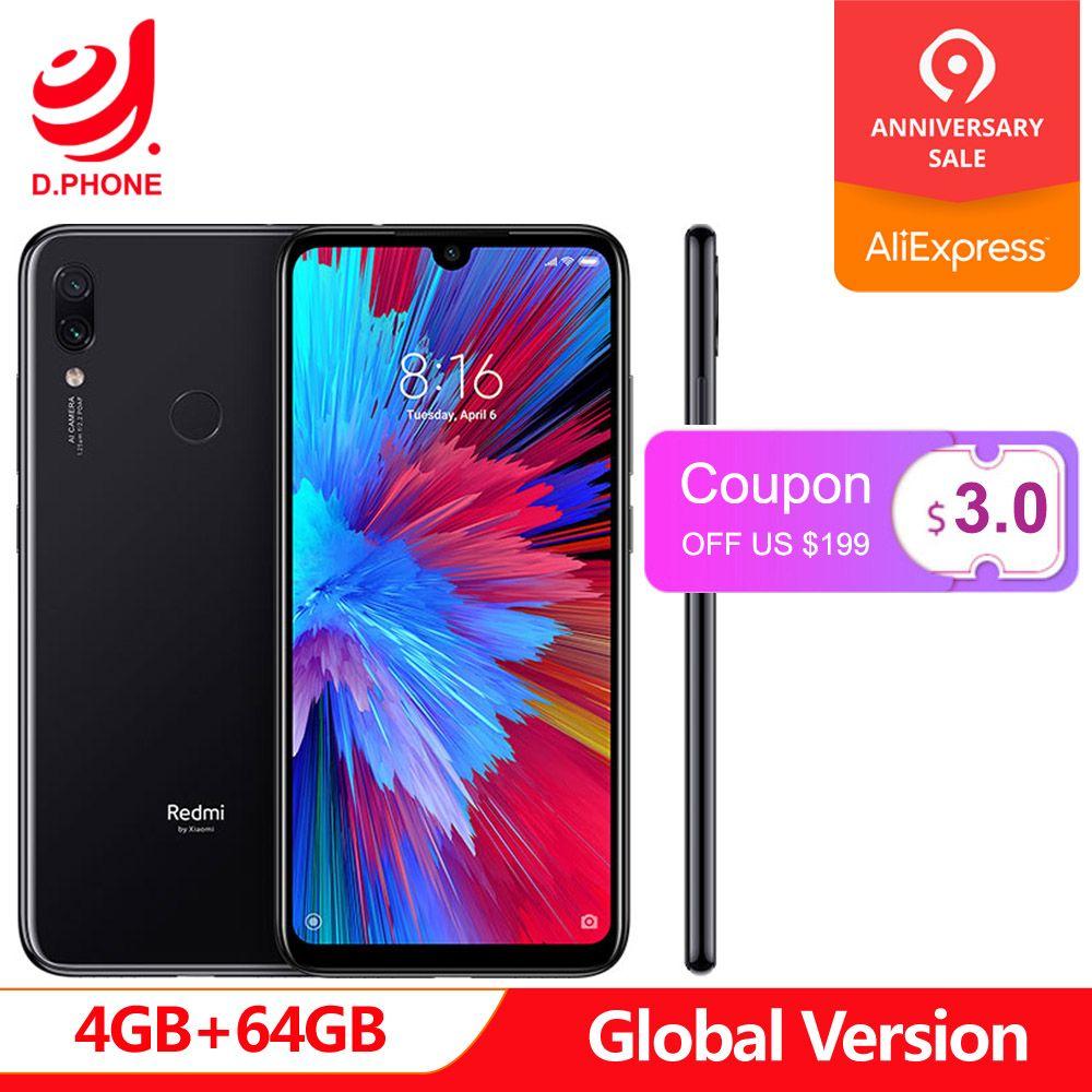 Global Version Xiaomi Redmi Note 7 4GB 64GB Snapdragon 660 AIE Octa Core 6.3