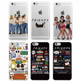 Friends TV Show Funny Central Perk Park Soft Phone Case Cover Coque Fundas For iPhone 11 Pro Max 7Plus 7 6 6S 8 8plus X XS Max