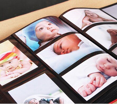 600 Pockets Leather Photo Album Book Good Quality 6 Inch 4x6 Photos Baby Family Large Capacity Pictures Gallery Fashion PU Cover