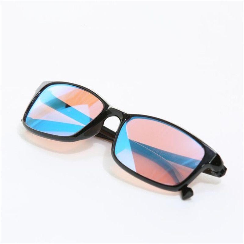 ZXTREE lunettes de couleur-cécité rouge vert couleur aveugle correctrice HD lunettes femmes hommes daltonien permis de conduire lunettes Z368