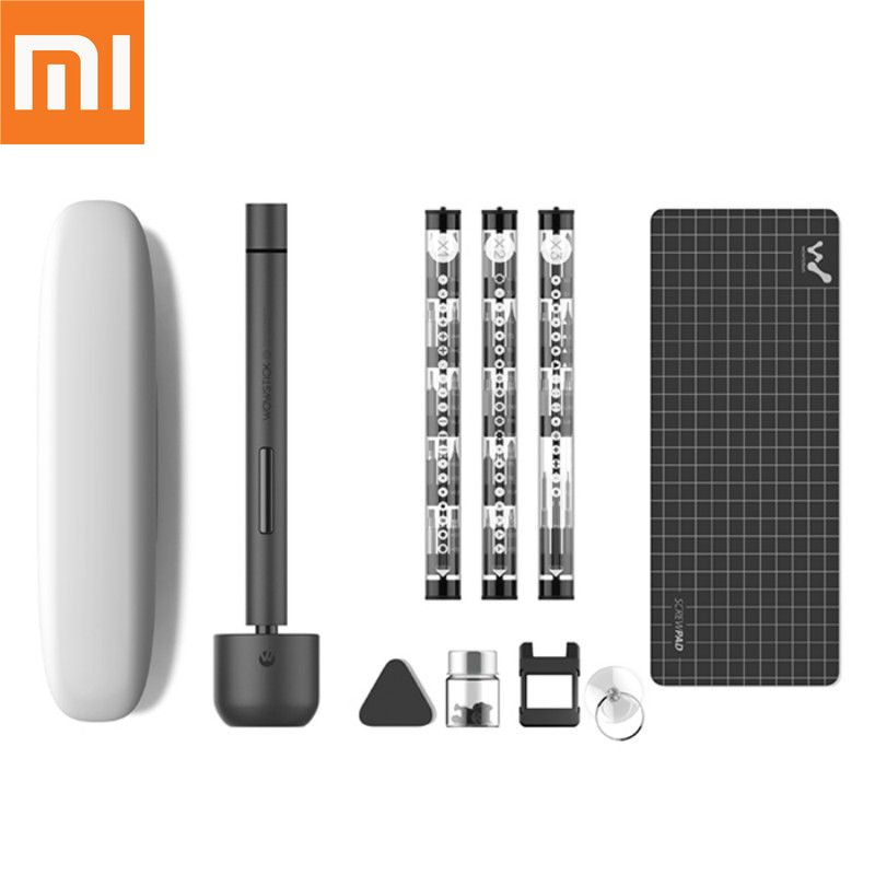 Original Xiaomi Smart Wowstick 1F+ 64 In 1 Electric Screw Mi driver Cordless Lithium-ion Charge LED Power Screw mijia driver kit
