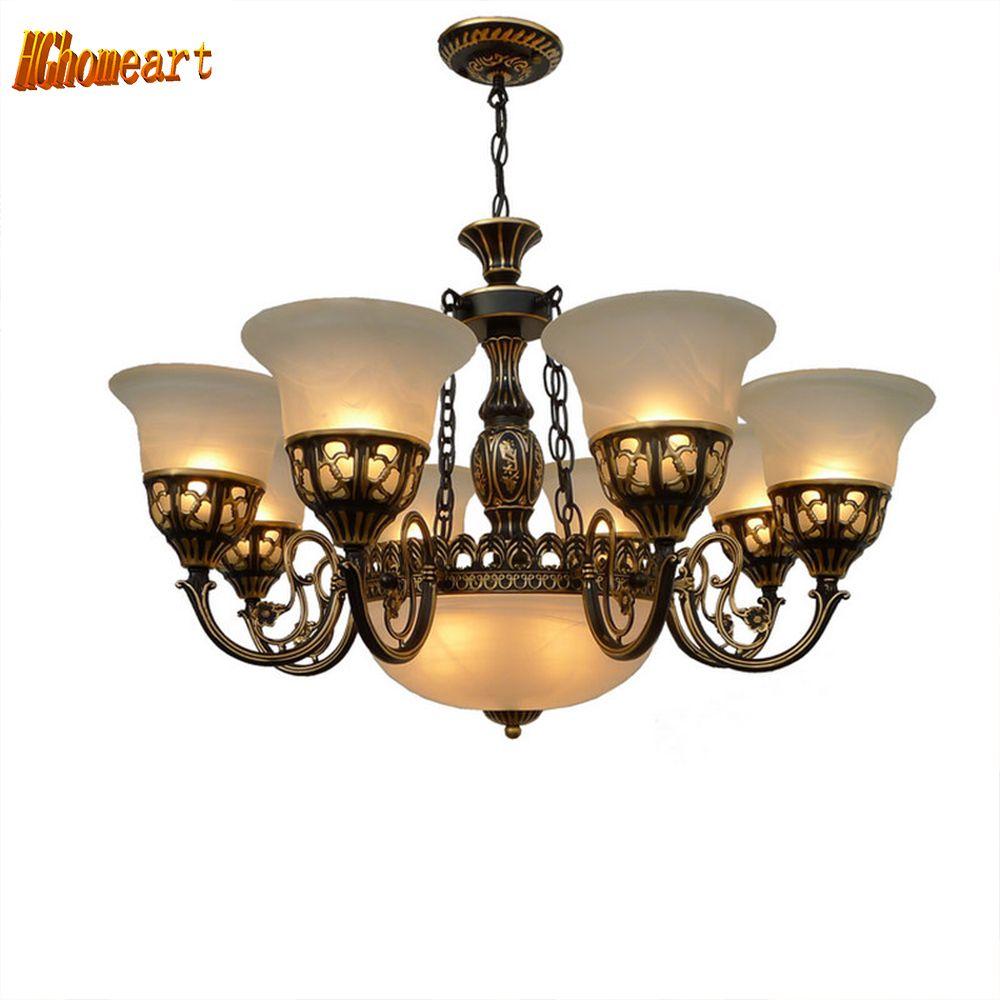 Amerikanischen land pendelleuchte antike lampe einfachen Europäischen retro schmiedeeisen Pendelleuchten lampe loft lampe