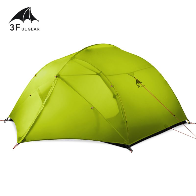 3F UL GEAR 15D silicon Coating 3 person 3/4Seasons Camping Hiking Backpacking ultralight tent with Matching Ground Sheet