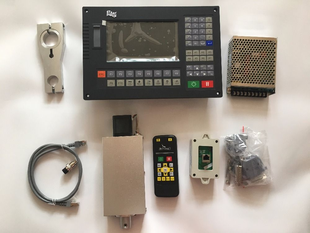 CNC Controller CC-S4D for plasma cutting Built in arc control torch height control with lfter and remote controller