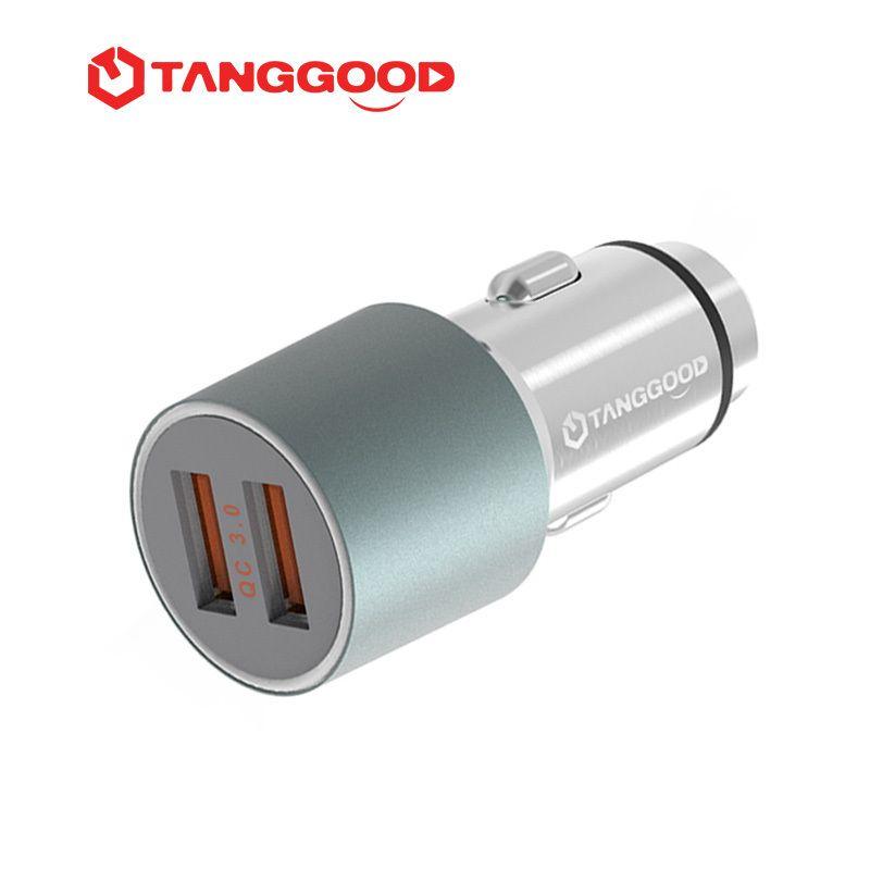 TANGGOOD 36 Watt USB Car Charger Quick Charge 3,0 2,0 Handy ladegerät 2 Port USB Schnelles Auto-ladegerät für Samsung Xiaomi iPhone