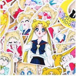 36pcs Creative Cute Self-made Pretty guardian Sailor Moon  Scrapbooking Stickers /Decorative Sticker decoration /paper stickers