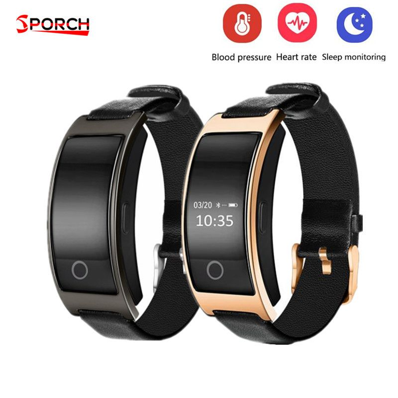 CK11S Wristband Blood Pressure Watch Blood Oxygen Heart Rate Monitor Smart Bracelet Pedometer IP67 <font><b>Waterproof</b></font> Smart Band