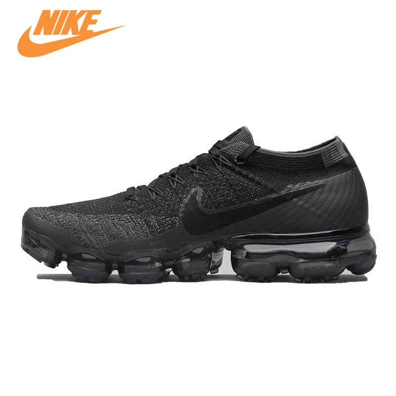 New Arrival Original Authentic Nike Air VaporMax Flyknit Breathable Men's Running Shoes Sports Sneakers Trainers