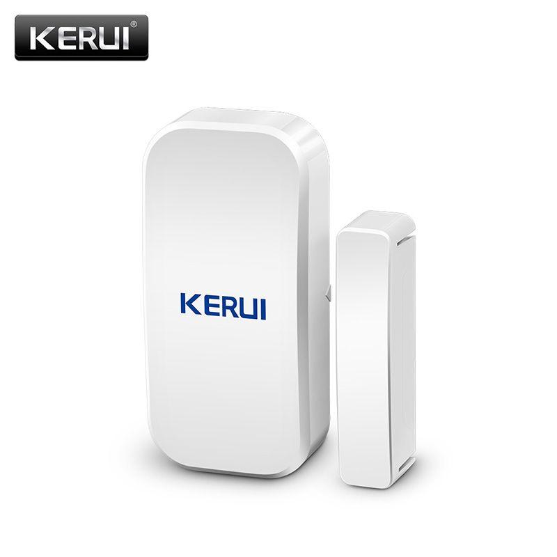 Détecteur Original de capteur d'aimant de porte de fenêtre sans fil de KERUI D025 433 MHz pour le système d'alarme sans fil à la maison
