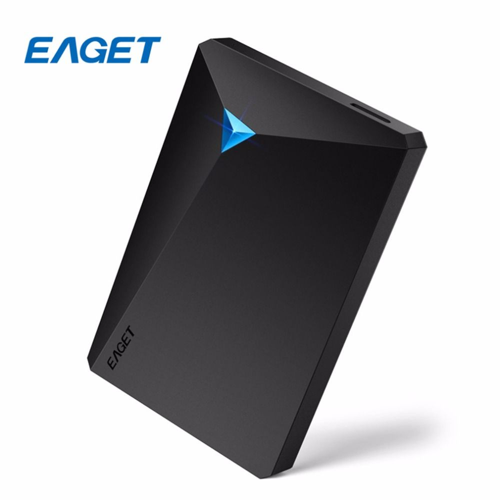 EAGET G20 Encryption External Hard Drive 2.5'' 500GB 1TB 2TB 3TB USB 3.0 HDD Type Leptop Hard Disk Ultra-fast Speed Shockproof