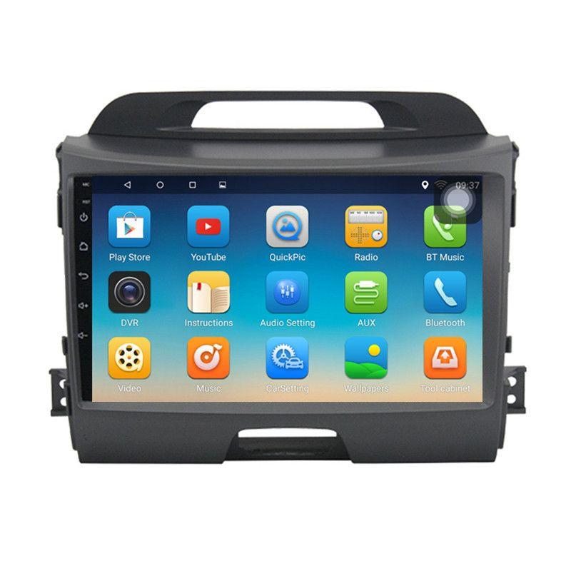 ChoGath 9 inch Android 7.0 car radio KIA sportage r 2011 2012 2013 2014 2015 car head unit gps navigation car stereo No Canbus