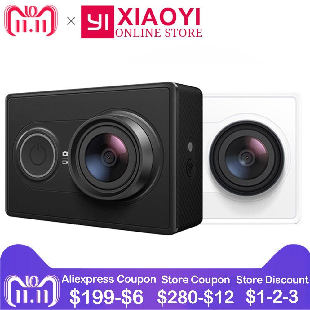 [Édition internationale] 1080 p YI D'action Caméra Xiaomi Sport Caméra WiFi 3D Réduction Du Bruit 16MP Full HD 60FPS ambarella A7LS
