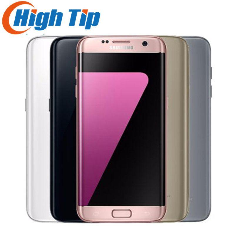 Original Samsung Galaxy S7 edge 2016 mobile phone 4GB RAM 32GB ROM Quad Core 5.5 inch WIFI GPS 12MP 4G LTE 1 year warranty
