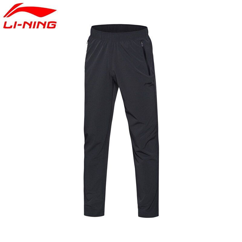 Li-Ning Men Training Series Pants Breathable 86% Polyester 14% Spandex LiNing Pants AYKM147 MKY304
