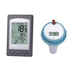 2017 Nouveau 1 Pc Professionnel Sans Fil Flottant LCD Affichage Numérique Étanche Piscine SPA Thermomètre Flottant Avec Récepteur