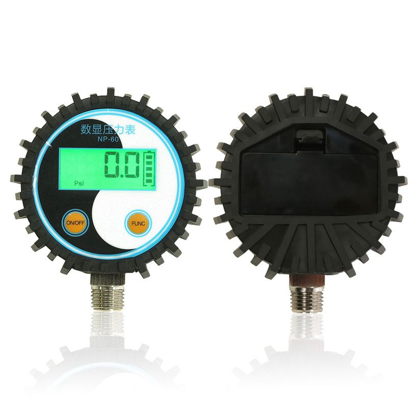 0-10bar(0~145psi) G1/4 Battery-Powered Digital Pressure Gauge Pressure Tester