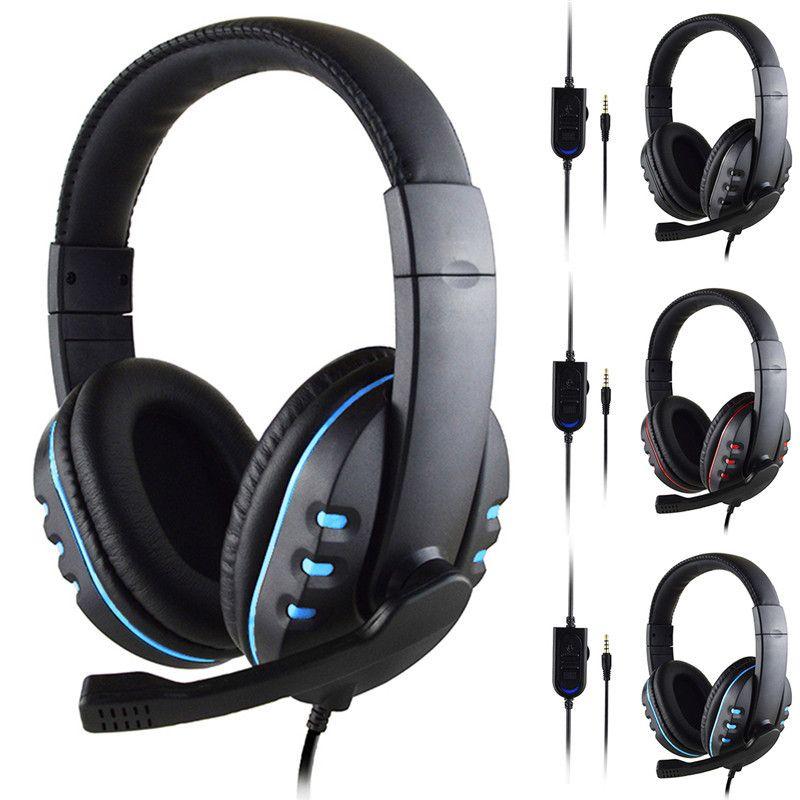 SOONHUA 3.5mm casque de jeu filaire Deep Bass Jeu Écouteur Professionnel Ordinateur Gamer Casque Avec HD Microphone pour Ordinateur
