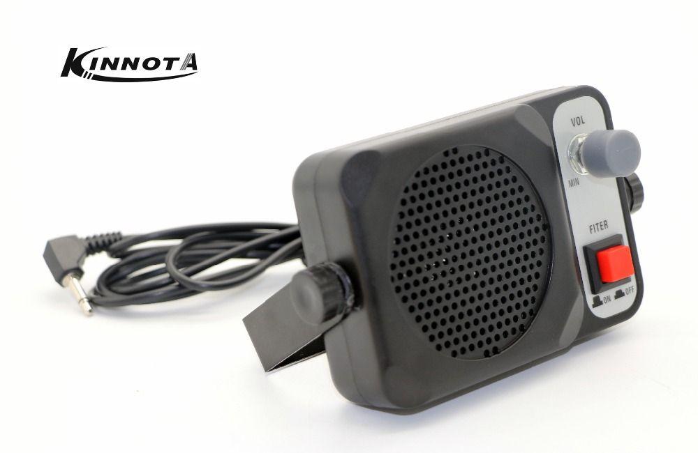 KINNOTA TS-650 Mini Haut-Parleur Externe ts650 Pour Yaesu Kenwood ICOM Motorola Ham Radio CB Hf Émetteur-Récepteur Voiture Talkie Walkie