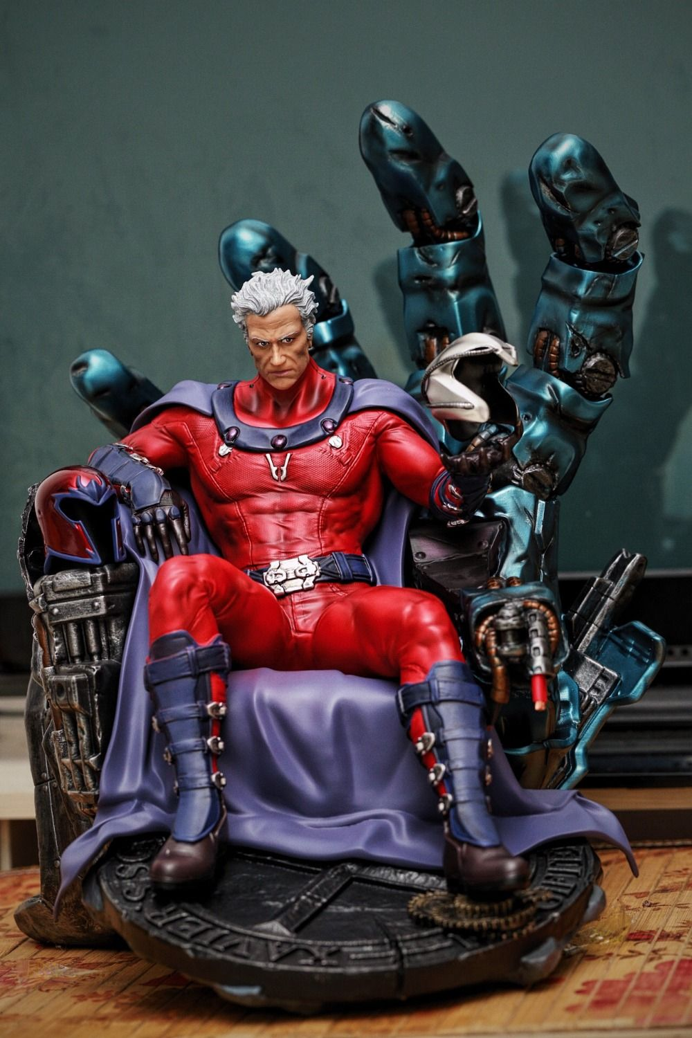 New Worth Collection 1/4 Scale X-Men Resin Magneto Statue Recast High Quality