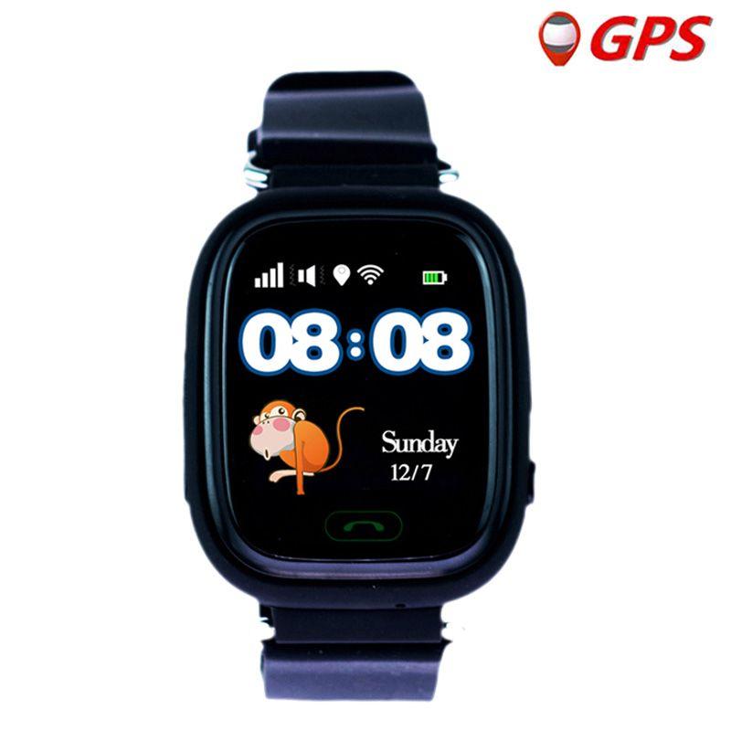Q90 enfants GPS montre Smart bébé montre pour enfants montre walmart enfant horloge avec WIFI emplacement SOS appel Tracker dispositif PK Q528 Q100