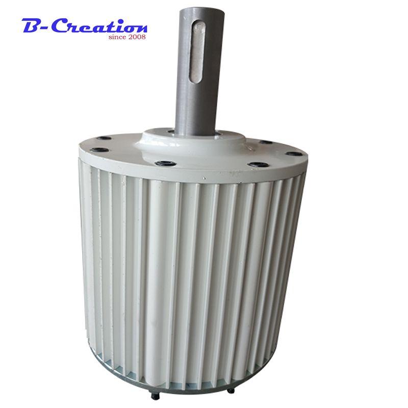 MAX 2.3KW Generator 2kw Wind Power Generator Lichtmaschine 48 v 96 v 110 v 220 v Niedrigen Drehzahlen Permanent Magnet mit Hohe Effiziente Bürstenlosen