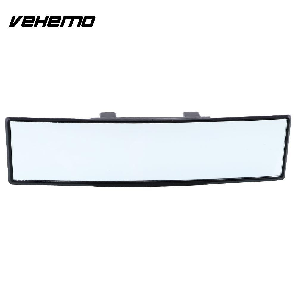 Vehemo 270mm Car Care Interior Rearview Convex Face Wide Rear View Mirror Clip On