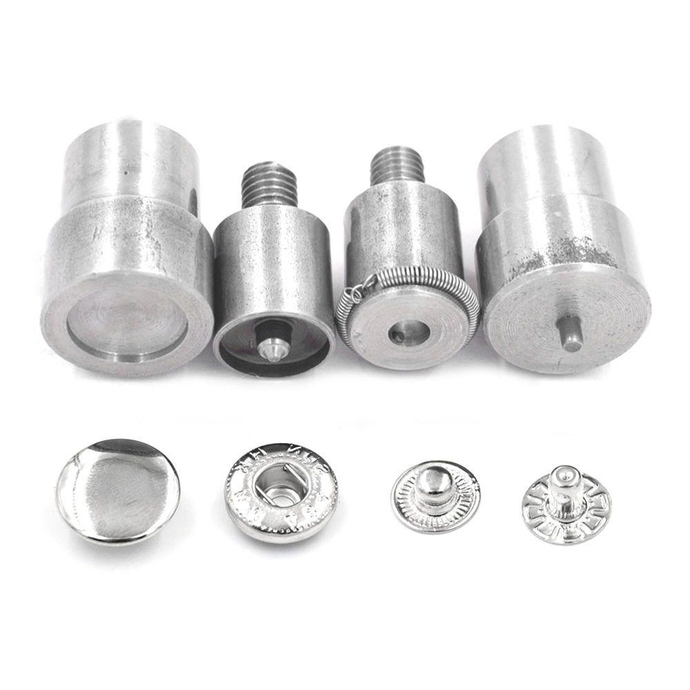 15mm 12.5mm boutons-pression meurent Rivets d'installation de boucle en métal. Oeillets. boutons-pression en métal. outils d'installation de boutons de matrices de moules de machine de presse