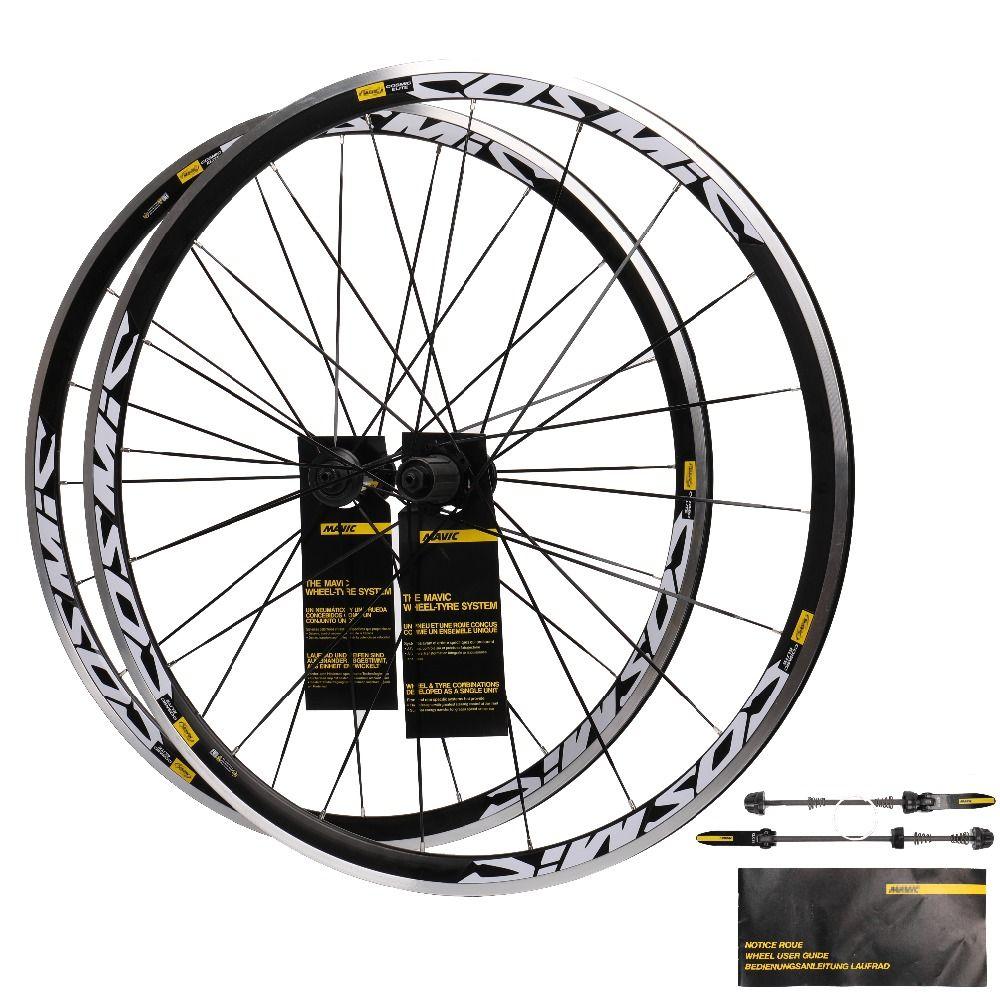 2018 High Quality HOT sale 700C Alloy V Brake Wheels bmx Road Bicycle Wheel Aluminium Road Wheelset Bicycle Wheels