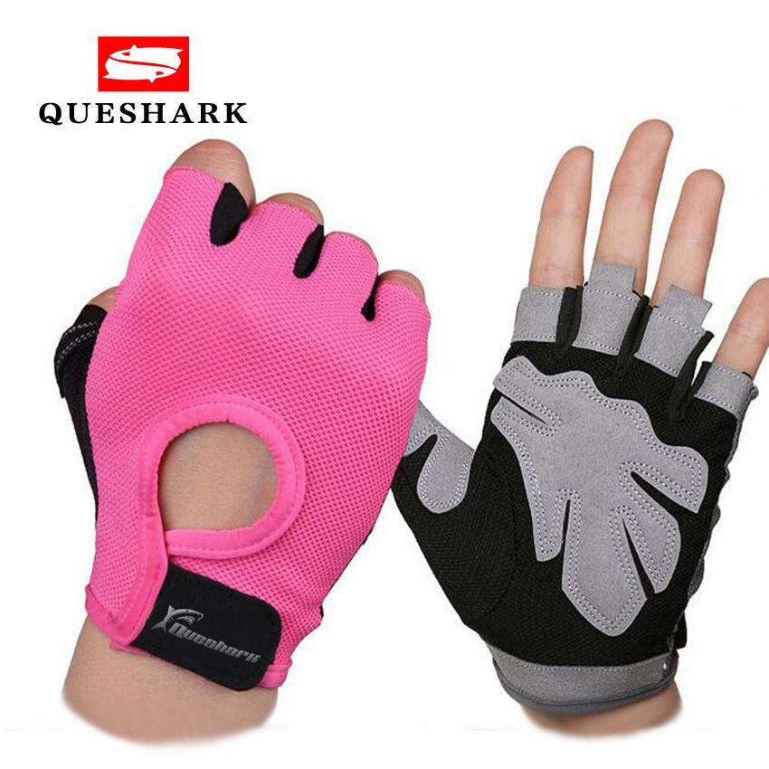 Anti-skid Half Finger Gym Gloves Sports Body Building Training Wrist Gloves Men & Women Dumbbell Fitness Exercise Weightlifting