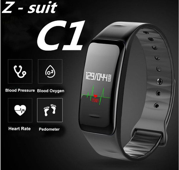 Z-suit Health Sport Wristband Oxygen Blood Pressure Heart Rate monitor Smart Bracelet Fitness Tracker Smart Band for IOS Android