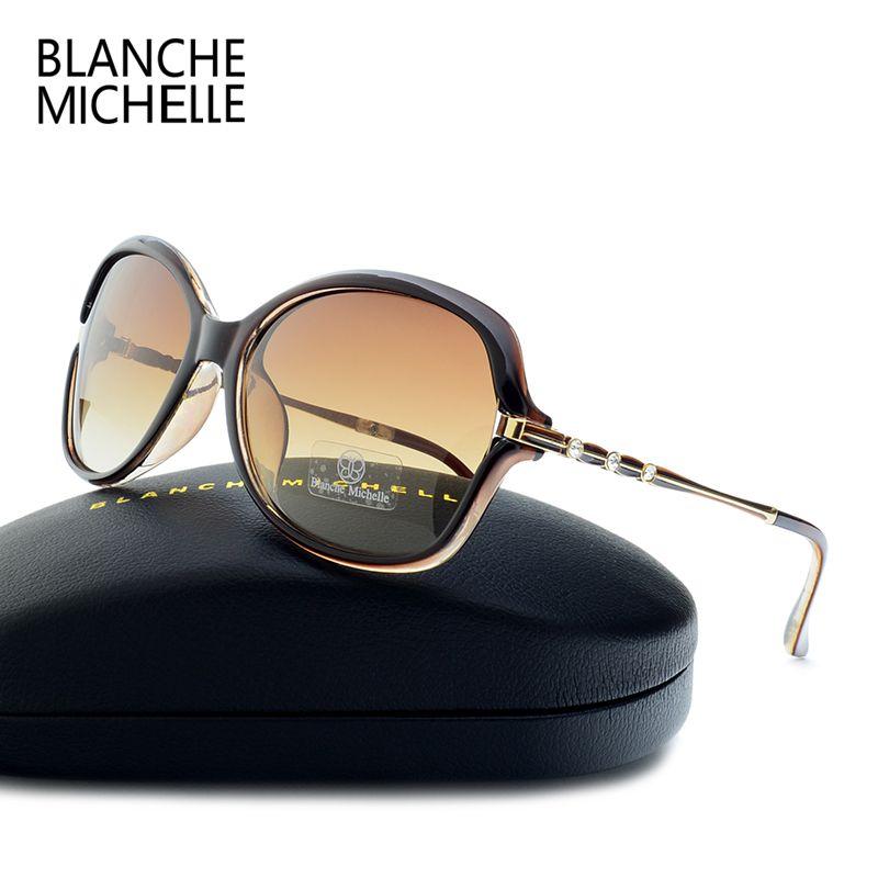 2019 nouveau mode lunettes de soleil femmes polarisées UV400 dégradé lentille lunettes de soleil pour femme Vintage lentes de sol mujer avec boîte