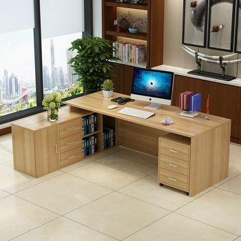 0211TB009 Moderne MDF mobilier de bureau sur mesure livraison combinaison de bureau exécutif patron gestionnaire bureau bureau table