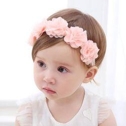 Nouveau Bébé Fleur Bandeau Rose Bandes de Cheveux de Ruban BRICOLAGE À La Main Chapeaux accessoires De Cheveux pour Enfants Nouveau-Né En Bas Âge