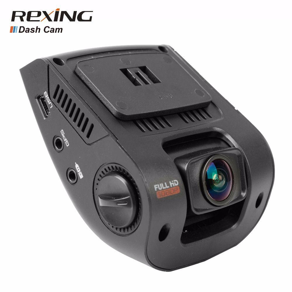 Rexing V1 Car DVR Camera Dash Cam, High Quality, Full HD 1080p, 170 Wide Angle,G-Sensor, WDR, Night Vision