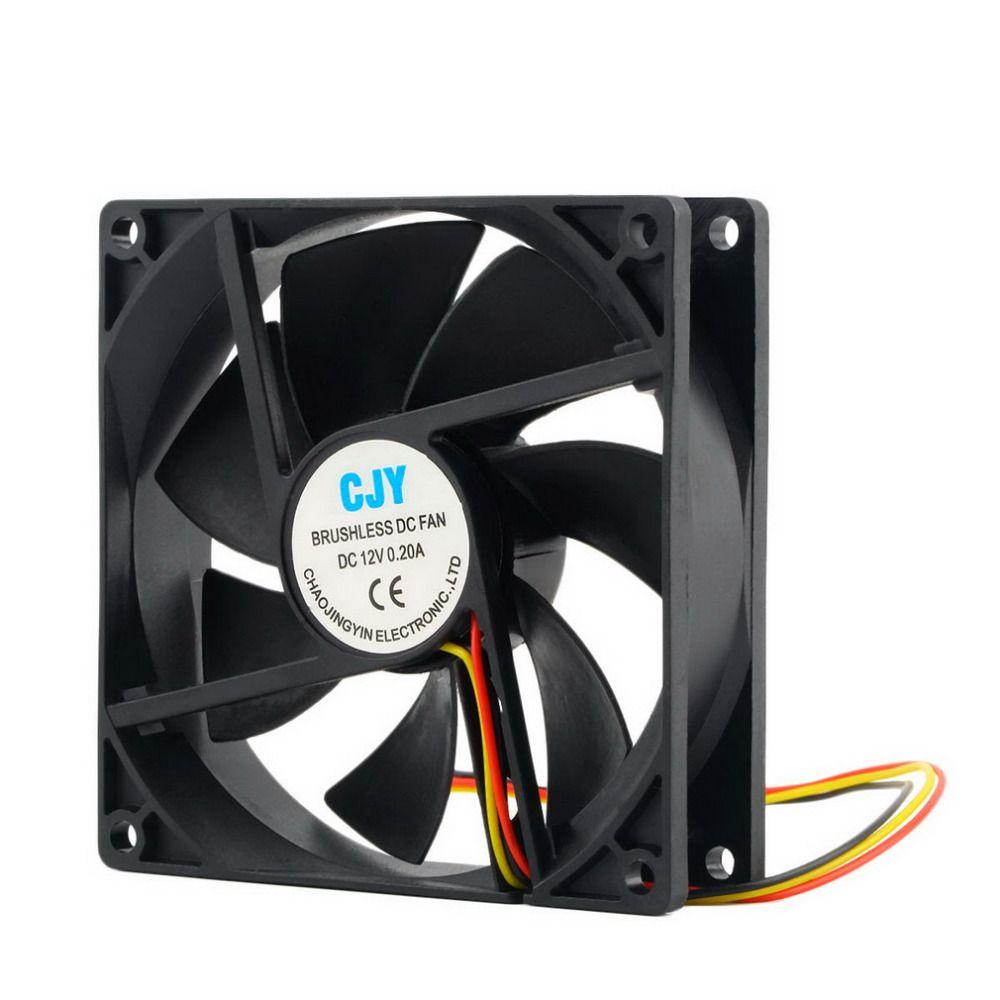 2017 neueste 1 stück 12 V 3-Pin 9 cm 90x25mm 90mm CPU Kühlkörper Kühler Lüfter DC-LÜFTER 65 CFM Hohe qualität!