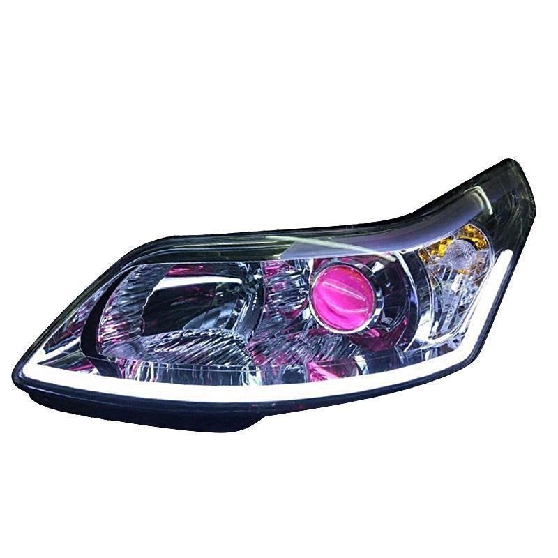 Cob Tagsüber Assessoires Autos Laufende Lichter Styling Lampe Außen Led Drl Auto Beleuchtung Scheinwerfer FÜR Citroen C-quatre