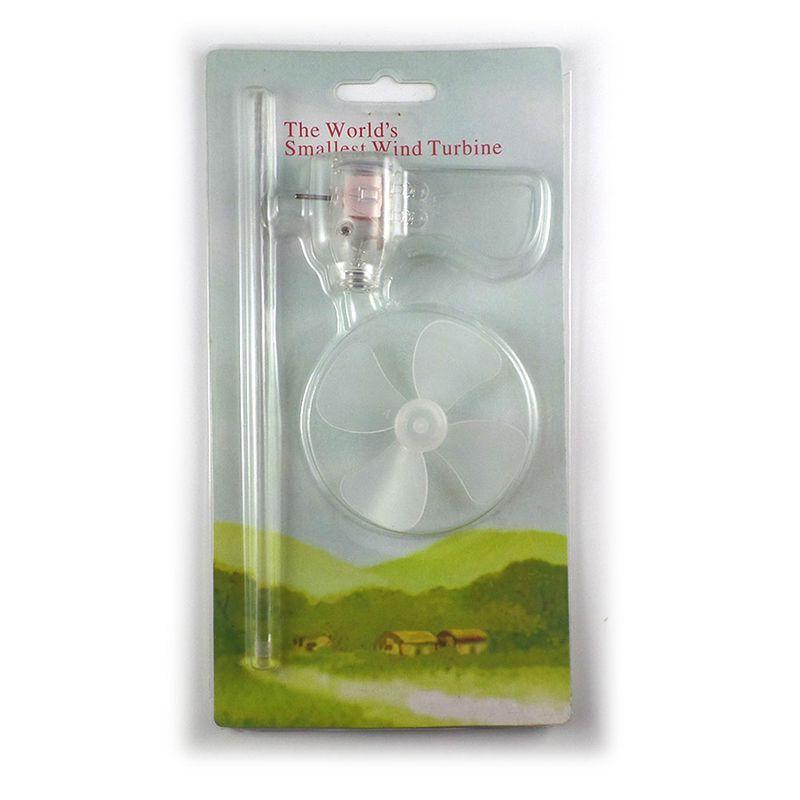 Kleinste Mini Wind Turbinen Generator LED Teaching Tools Probe Modell Heißer