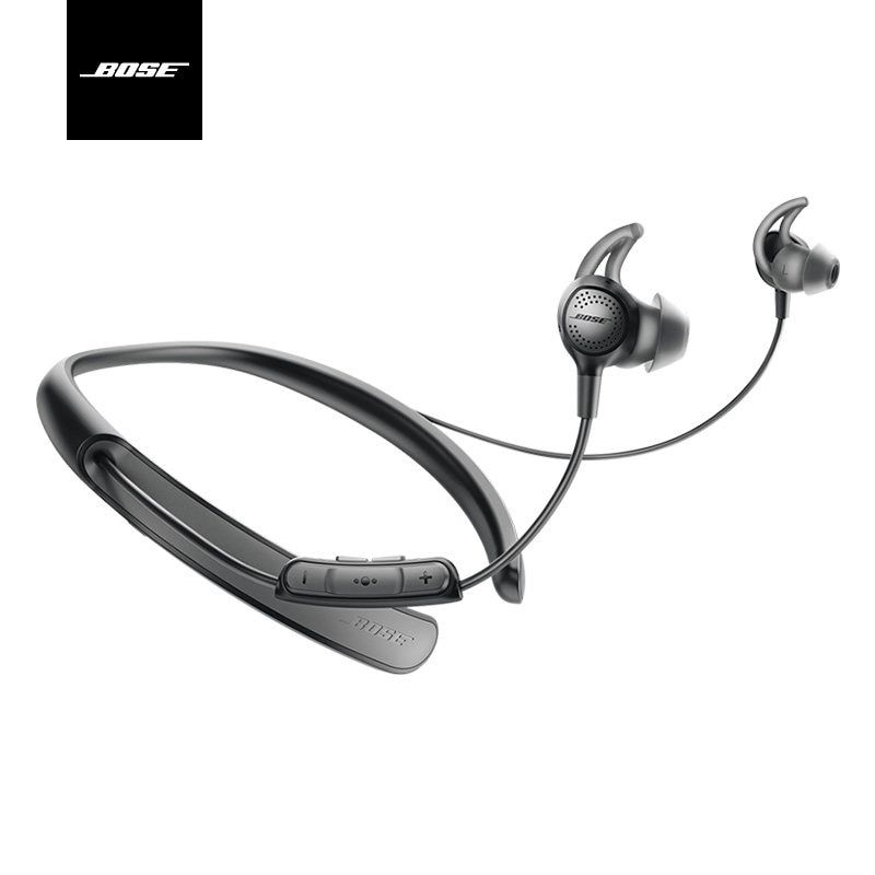 100% Original Bose QC30 Sports Bluetooth earphone wireless sport headset handsfree in-ear Built-in Mic Sweat Global Warranty