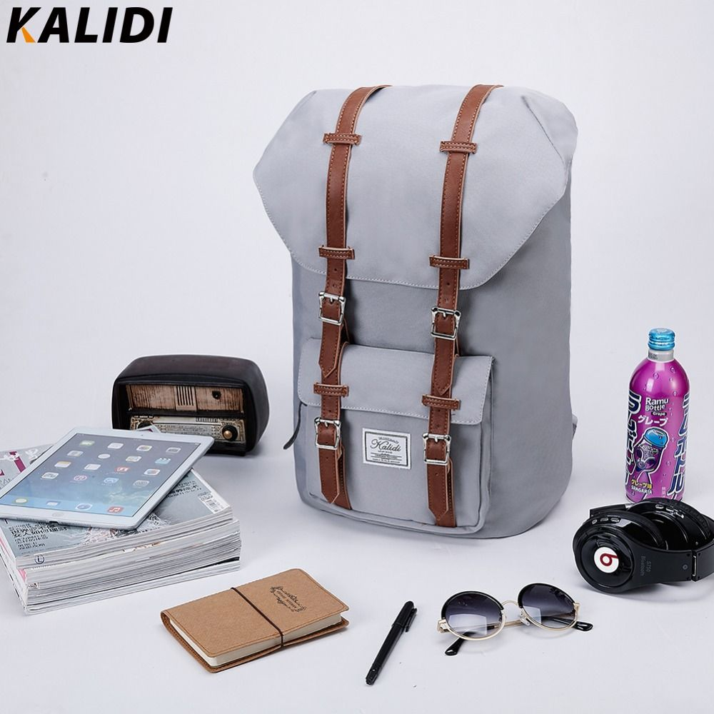 KALIDI Brand 15 inch Laptop Bag Backpack Men Backpack 15.6 17.3 Inch For Travel School Bags Rucksack Mochila hombres 13 to 17