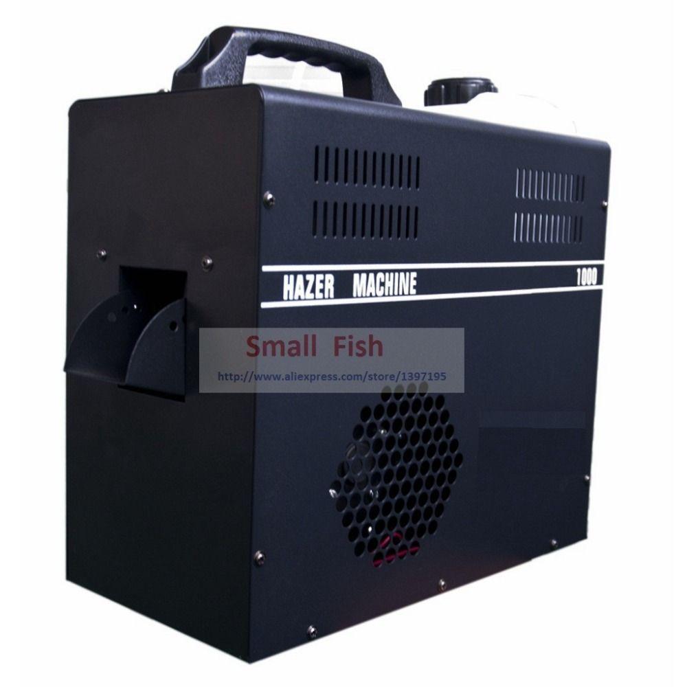 1000W Professionelle Nebel Dunst Maschine Bühne Ausrüstung Verwenden Dunst Öl Spezielle Rauch Hazer Nebel Maschinen Für DJ Disco Party bühne DMX