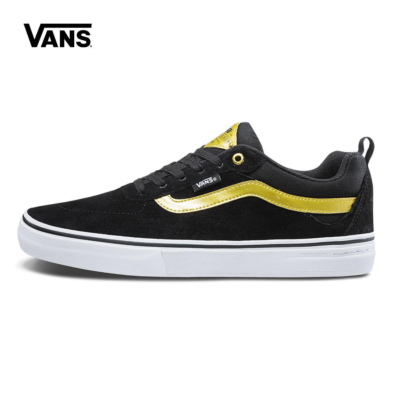 Original New Arrival Vans Mens Kyle Walker Pro Low-top Skateboarding Shoes Pro Skate Sneakers Canvas Sport Outdoor VN0A2XSGB2G