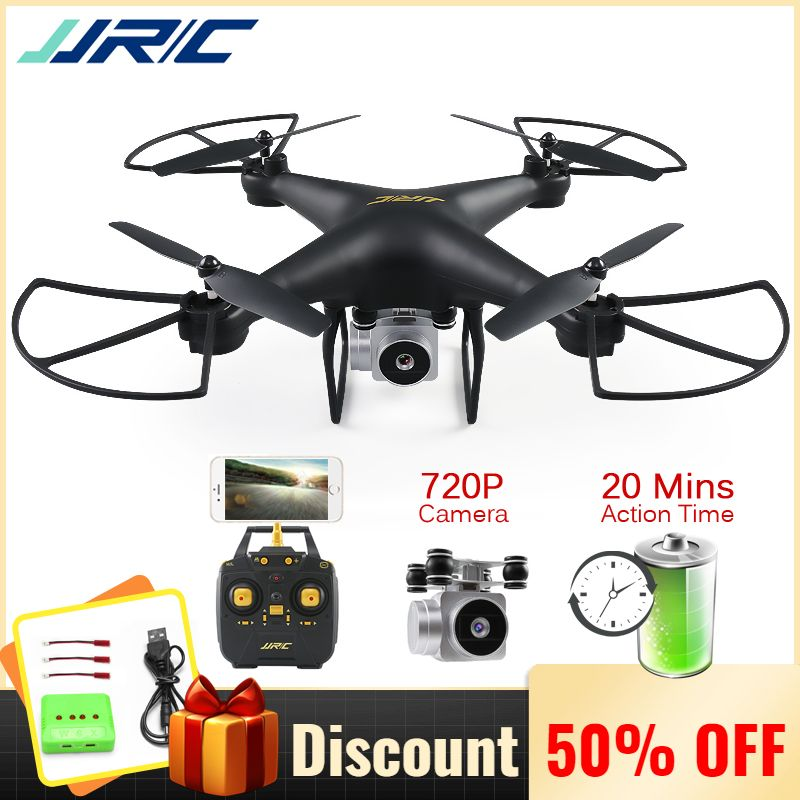 JJRC H68 Professional Drone with Camera Quadcopter 720P Wifi FPV RC Quadrocopter Dron Helicopter for Kids 20 Minutes Fly Time