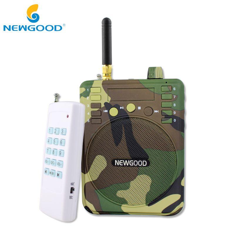 150Db 1000 M télécommande Chasse Haut-parleurs USB MP3 Oiseau Appelant Leurre de canard Animal Oiseau Sonore Attire Chasse TF USB Mp3 NEWGOOD